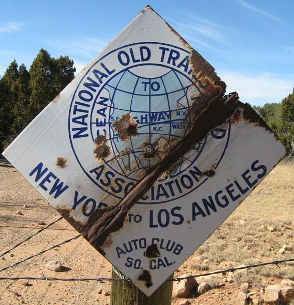 National Old Trails Road Sign